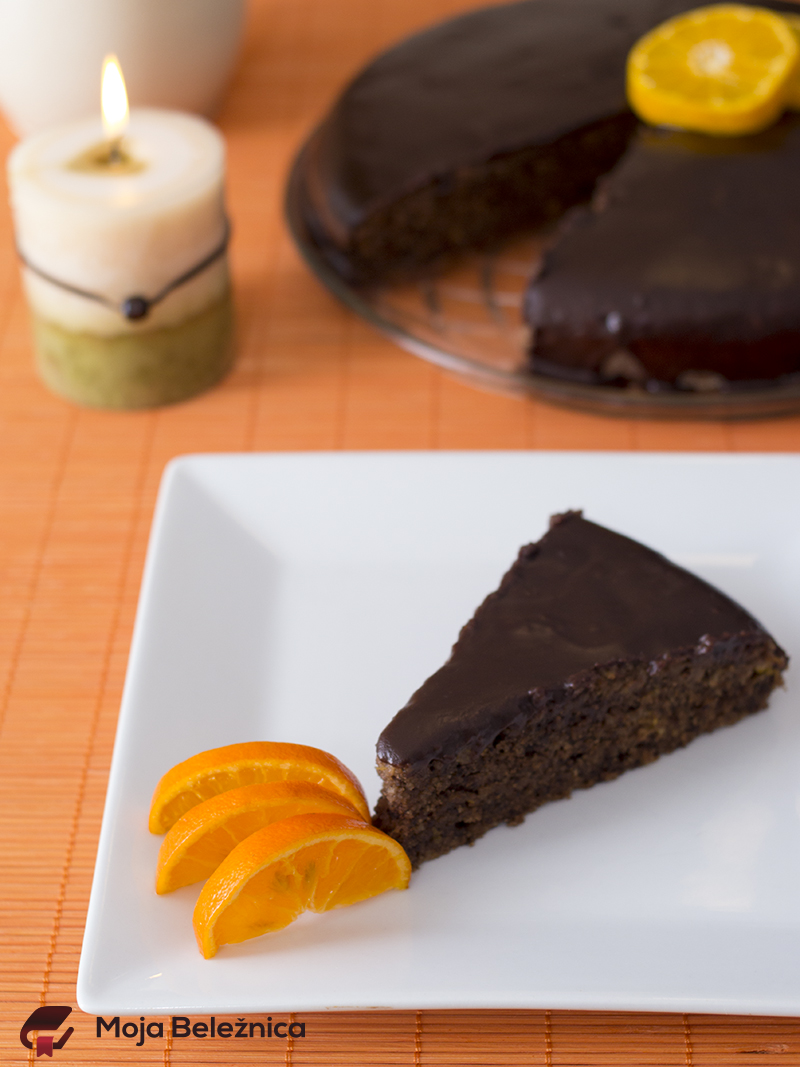 Čokoladni kolač sa mandarinama (narandžama)