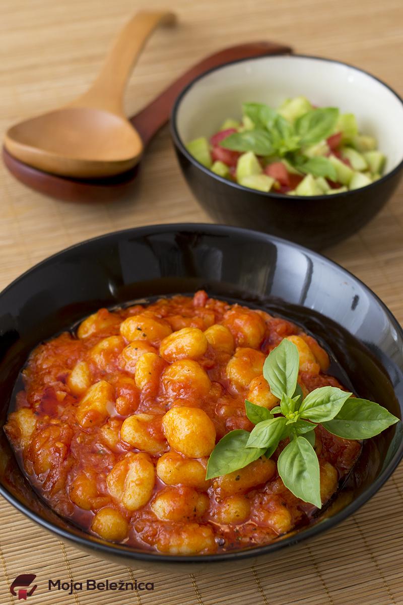 Njoke u sosu od pomidora