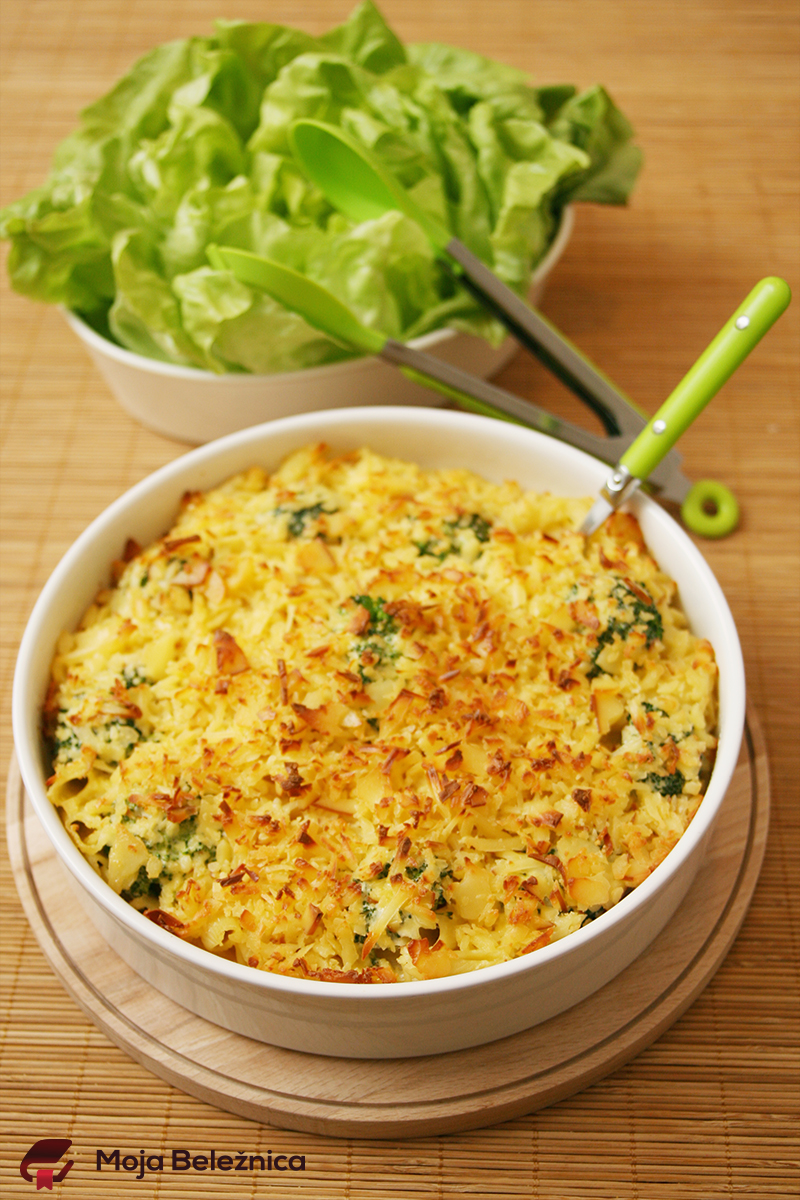 Mac&Cheese sa brokolijem