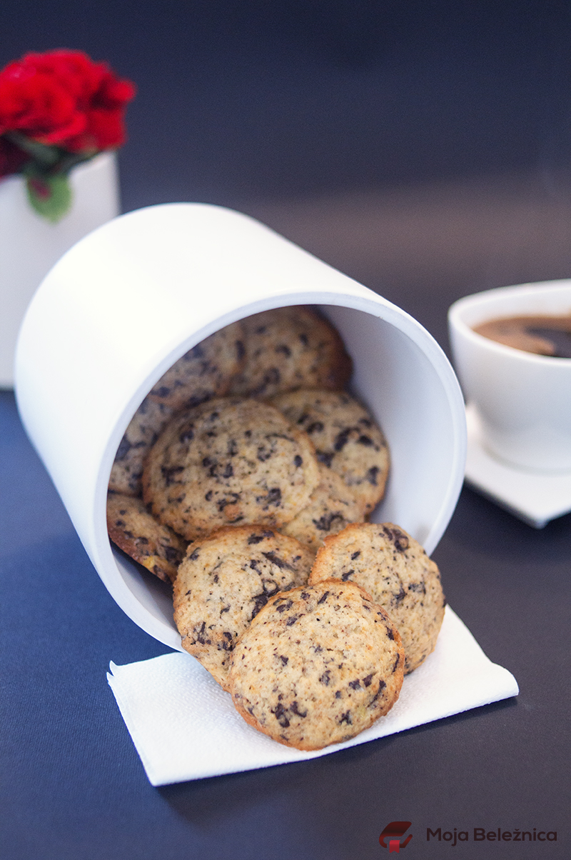 Čoko-banana cookies